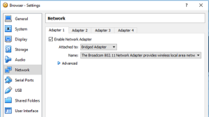 Configure Virtual Networking
