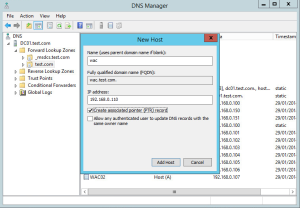 Configure WAC DNS Name