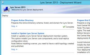 Lync 2013 FE Prep - 12 AD Prep Complete