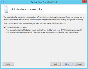 Lync 2013 FE Topology - 10 Collocated Roles