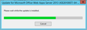 Office Web Apps 2013 - Update2